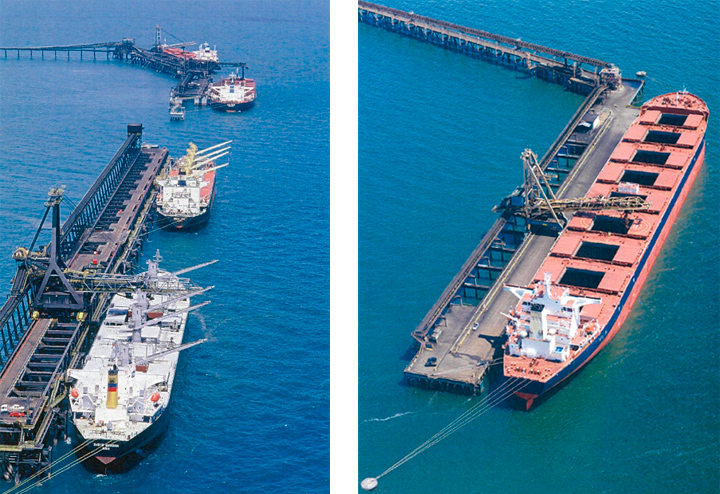Coal shipment superintending and certification