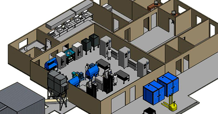 Mine site laboratory design