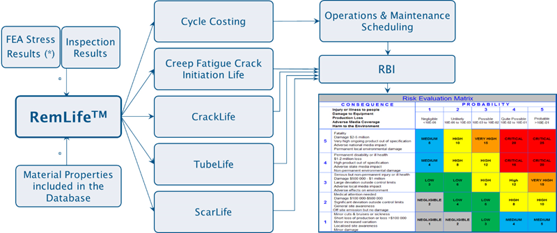 RemLife process follow chart.